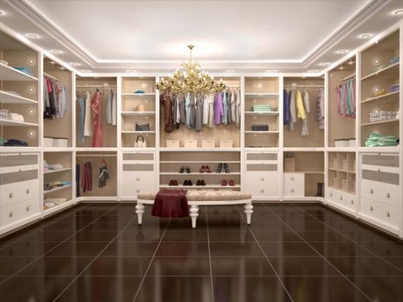 Приклад гардеробної №458091253