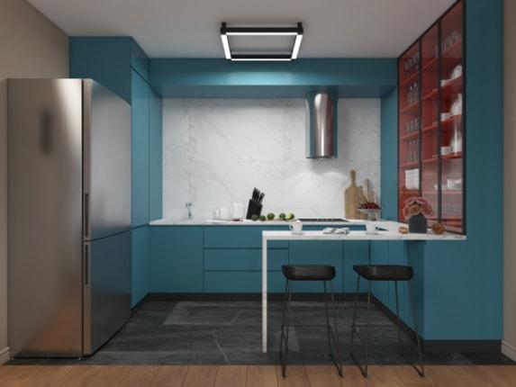 Кухня Blue Lagoon, фото №2