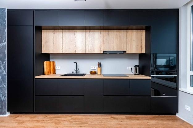 Кухня Black Style, фото №1