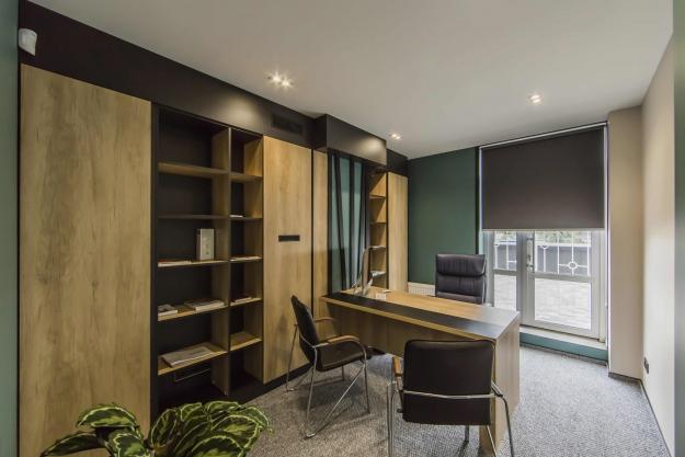 Офіс в еко стилі, фото №5
