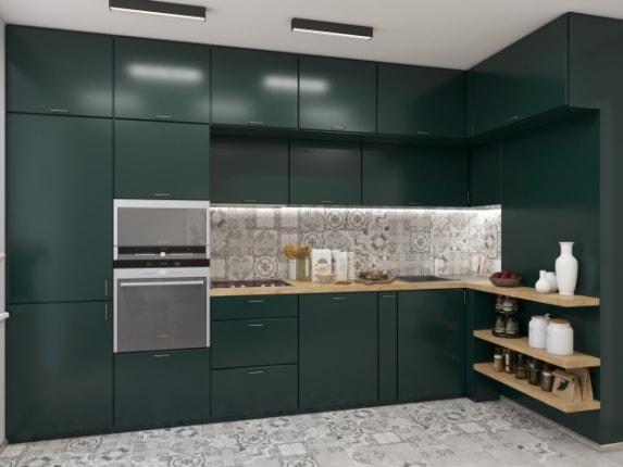Кухня Dark Green, фото №2