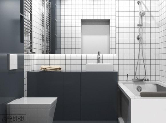 Тумба для ванной комнаты Grafit