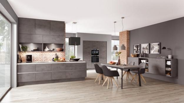 Кухня Leora Beton