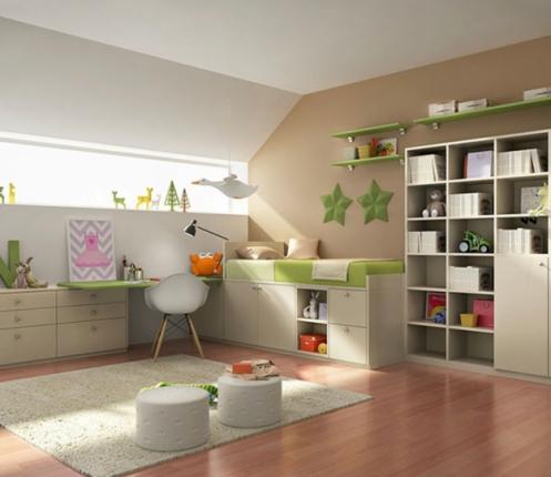 Дитяча кімната Green mood, фото №2