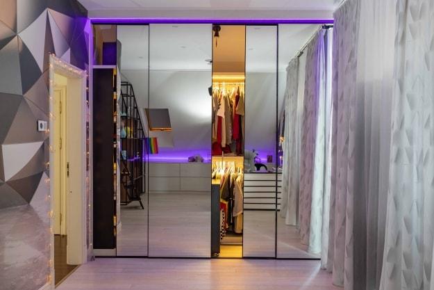Встроенный шкаф-купе Mirror