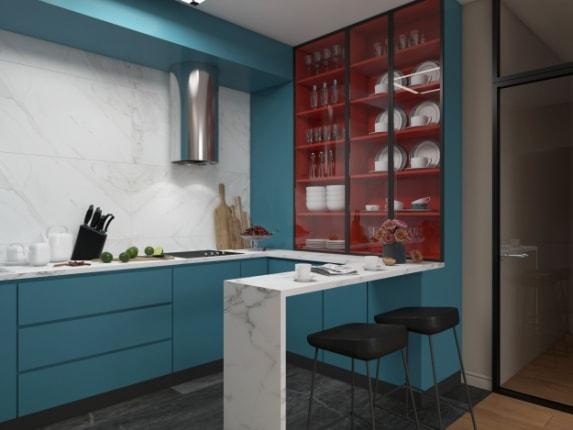 Кухня Blue Lagoon