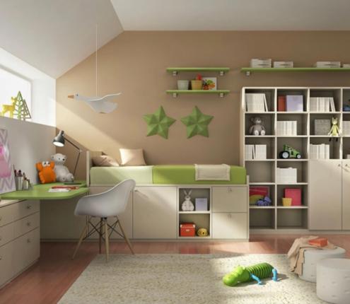 Дитяча кімната Green mood, фото №5