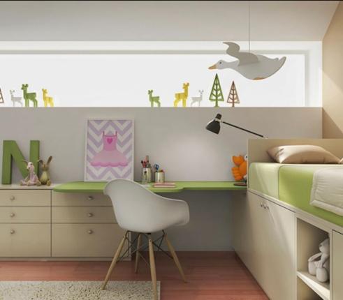 Дитяча кімната Green mood, фото №4